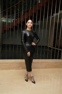 Actress Tamannaah Black Dress Photos @ MasterChef Press Meet