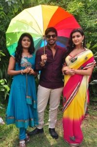 Sunitha, Srinivas, Neelam Upadhyaya @ Tamasha Movie Opening Stills
