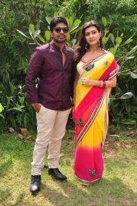 Sri, Neelam Upadhyaya @ Tamasha Movie Opening Stills