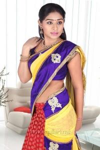 Tamil Actress Archana Hot in Saree Photoshoot Stills