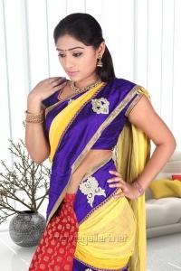 Tamil Actress Archana Hot Saree Photoshoot Stills
