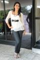 Actress Gayatri Iyer White Top and Black Jeans Photoshoot Stills