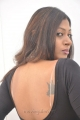 Tamil Actress Victoria Hot Back Pose Pictures