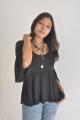 Tamil Actress Victoria in Black Dress