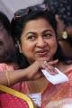 Raadhika Sarathkumar at Tamil Film Industry Protest Against Service Tax Photos