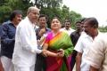 Kushboo Sundar @ Tamil Film Producers Council Election 2013 Photos