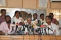 PL Thenappan, SA Chandrasekhar, Kalaipuli S.Thanu at Tamil Film Producers Council Press Meet Photos