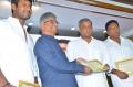 Vishal, SA Chandrasekar, Gautham Menon, Prakash Raj @ Tamil Film Producers Council Swearing Ceremony Photos