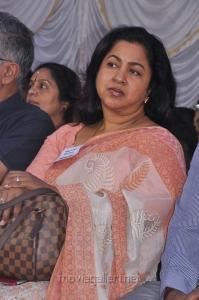 Actress Radhika at Tamil Stars Fasting Against Service Tax Stills