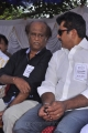 Rajinikanth, Sarathkumar at Tamil Stars Fasting Against Service Tax Stills