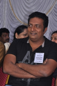 Prakash Raj at Tamil Stars Fasting Against Service Tax Stills