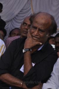 Actor Rajini Fasting Against Service Tax Stills