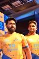 Ram Charan, Allu Arjun @ Tamil Thalaivas Jersey Launch Stills