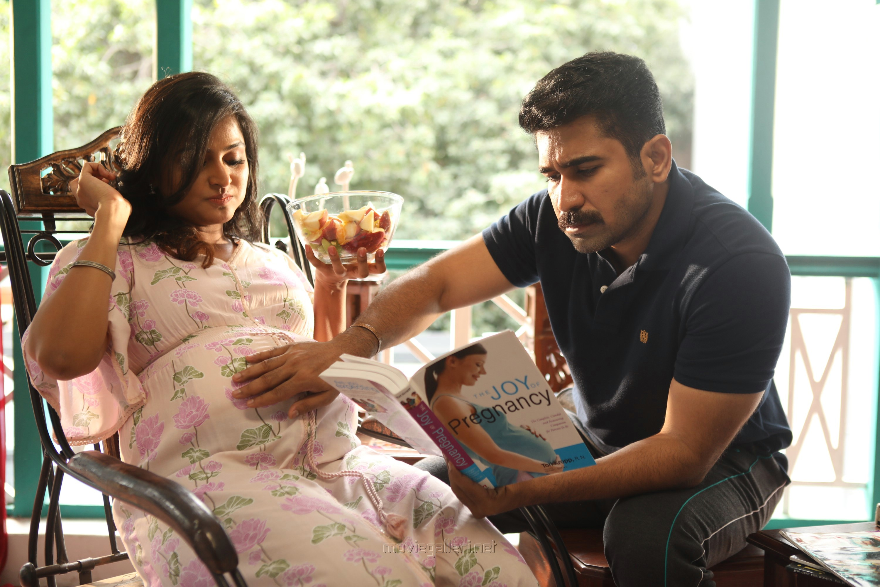 Ramya Nambeesan, Vijay Antony in Tamilarasan Movie Latest Stills HD