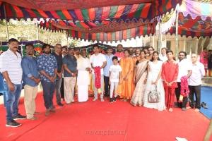 Tamilarasan Movie Pooja Stills