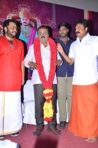 Vijayakanth's Tamilan Endru Sol Movie Pooja Stills
