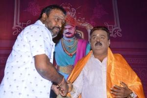Vijayakanth @ Tamizhan Endru Sol Movie Pooja Stills