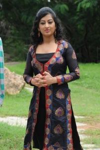 Telugu Actress Tejaswini Stills at Cut Chesthe Movie Launch