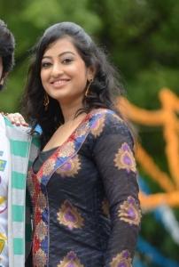 Telugu Actress Tanishka Stills at Cut Cheste Movie Opening