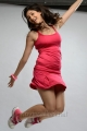 Actress Tanvi Vyas Hot Photoshoot Images in Pink Sports Dress