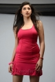 Actress Tanvi Vyas Hot in Red Sports Dress Photoshoot Images