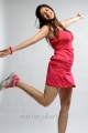 Actress Tanvi Vyas Hot in Pink Sports Dress Photoshoot Images