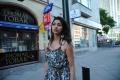 Actress Tanvi Vyas Crying Photos in Nenem Chinna Pillana Movie