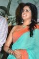 Actress Tanya Ravichandran Saree Photos @ Karuppan Press Meet