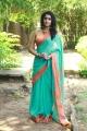 Actress Tanya Saree Photos @ Karuppan Press Meet