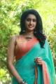 Tamil Actress Tanya Ravichandran Saree Photos @ Karuppan Movie Press Meet