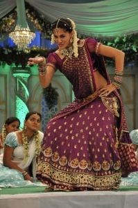 Actress Tapasee Pannu Cute Beautiful Traditional Saree Photos