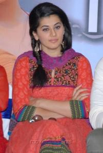 Actress Taapsee Pannu at Gundello Godari Success Meet