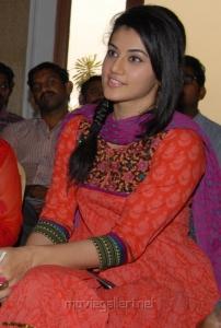 Actress Taapsee in Salwar Stills at Gundello Godari Success Meet