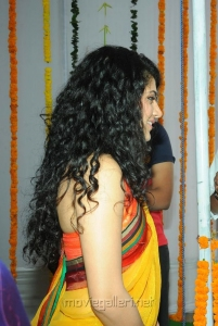 Actress Tapsee in Saree Photos at Muni 3 Movie Launch