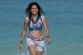 Tapsee Hot in Beach from Daruvu Movie
