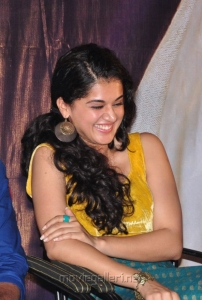 Taapsee Photos at Sahasam Special Screening for School Students