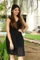 A1 Movie Heroine Tara Alisha Berry Black Dress Photos
