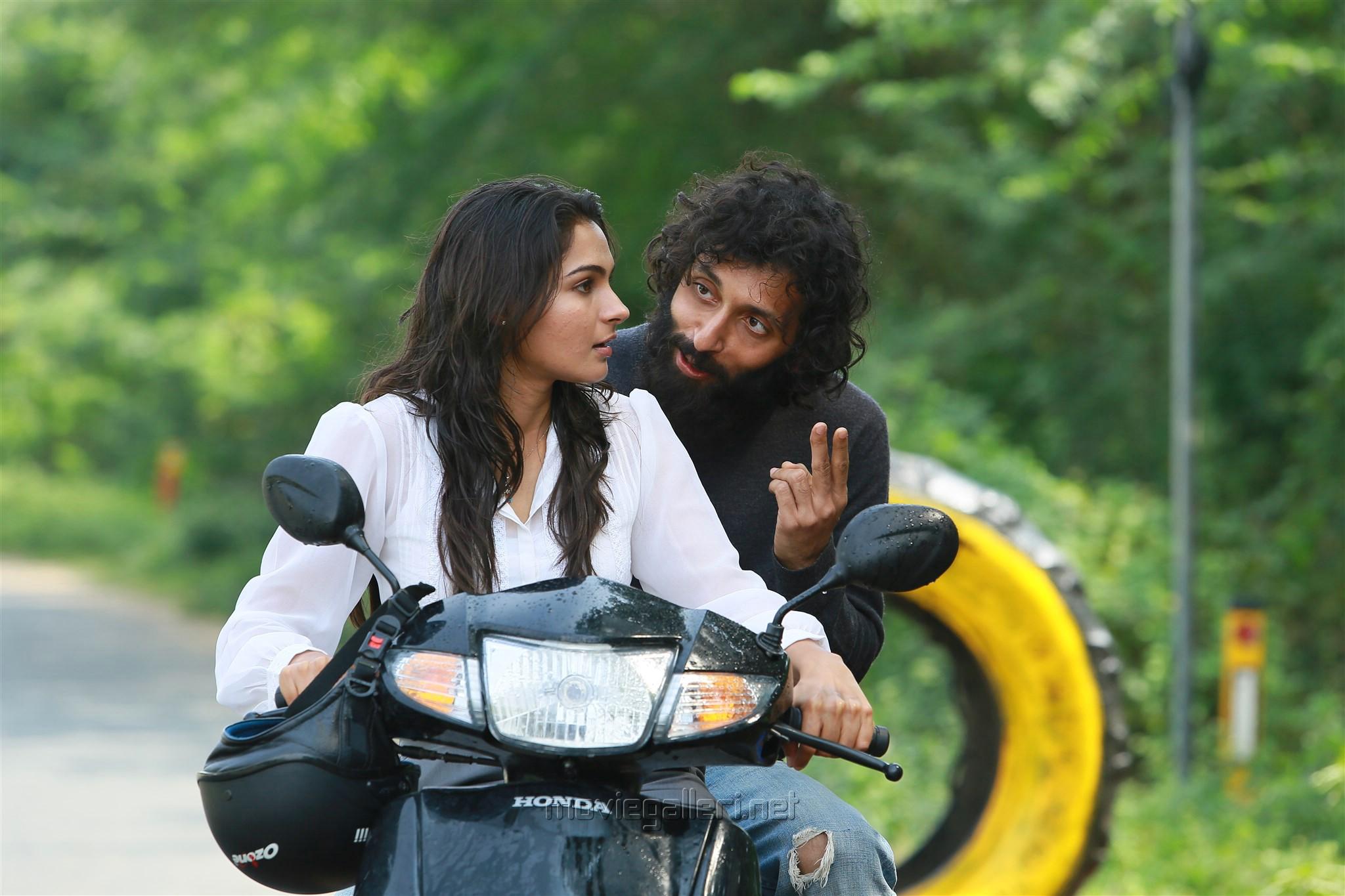 Andrea Jeremiah, Vasanth Ravi in Taramani Movie Stills