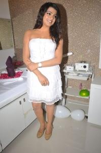 Tashu Kaushik Latest Hot Photos in White Gown
