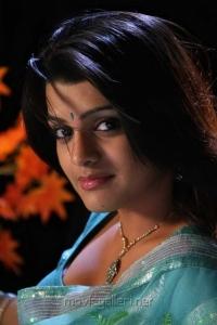 Actress Tashu Kaushik in Light Blue Saree Hot Photos
