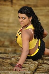 Actress Tashu Kaushik Hot Yellow Dress Pics