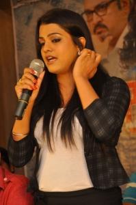 Actress Tashu Kaushik Stills @ Reporter Movie Press Meet