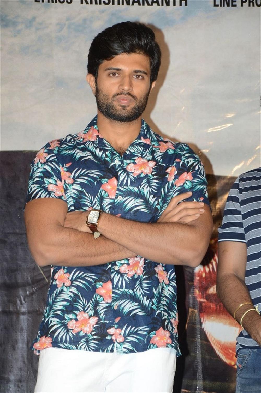 Actor Vijay Devarakonda @ Taxiwala Movie Teaser Launch Stills