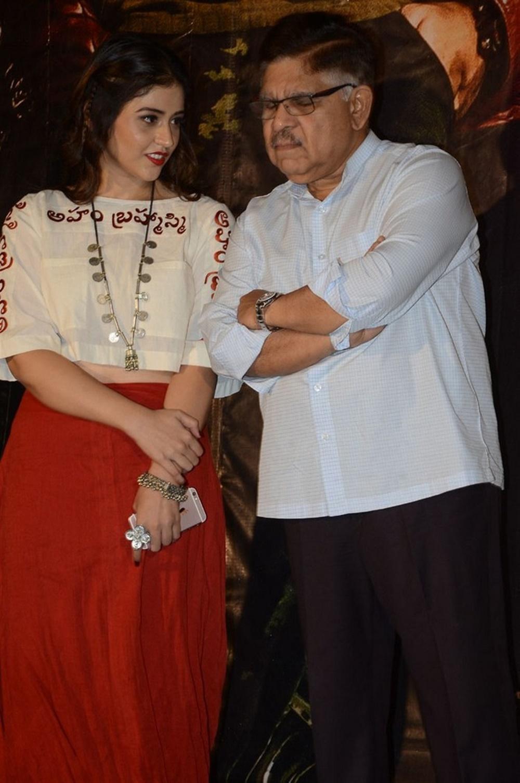 Priyanka Jawalkar, Allu Aravind @ Taxiwala Movie Teaser Launch Stills