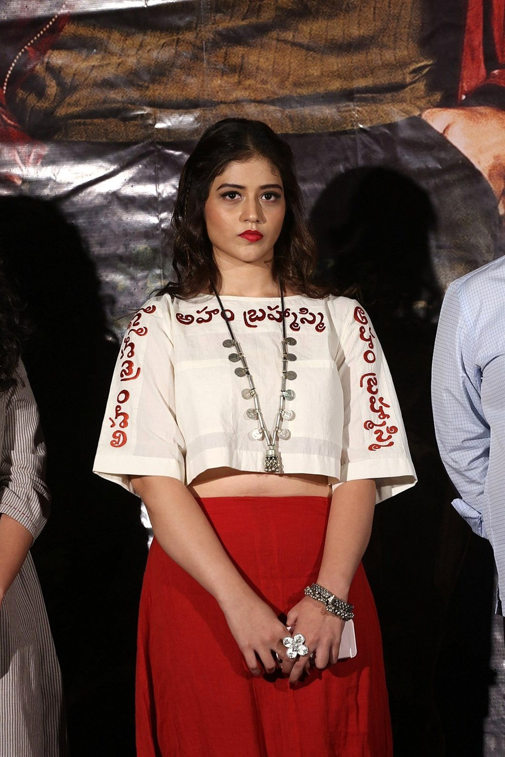 Actress Priyanka Jawalkar @ Taxiwala Movie Teaser Launch Stills