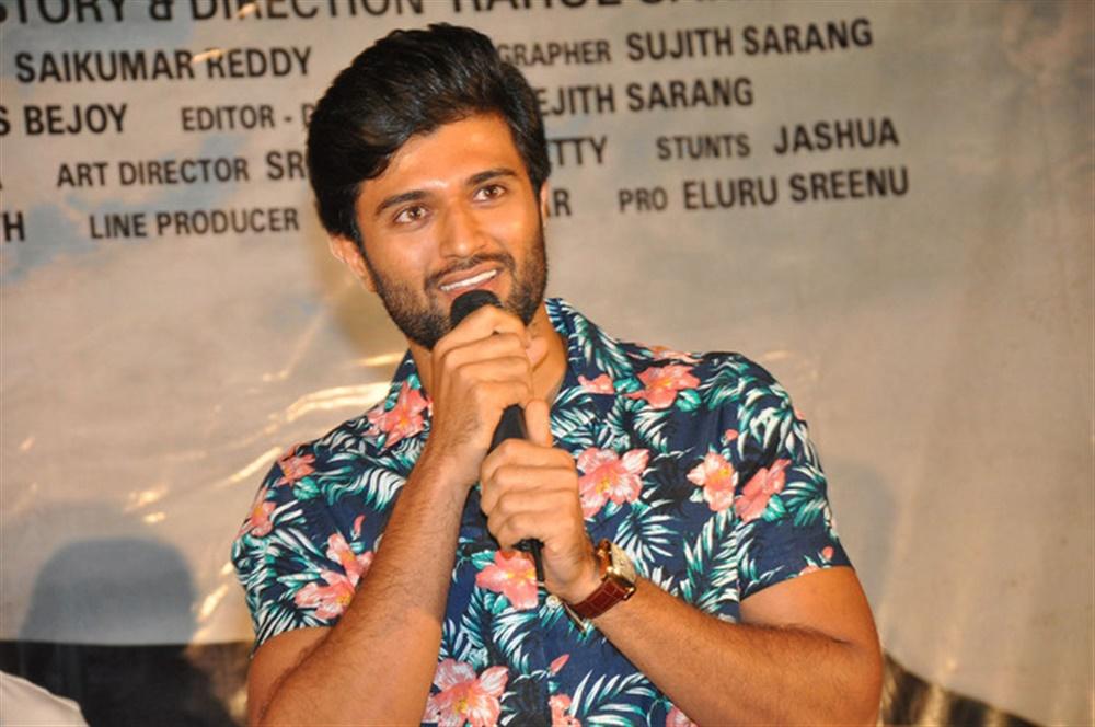 Vijay Devarakonda @ Taxiwala Movie Teaser Launch Stills