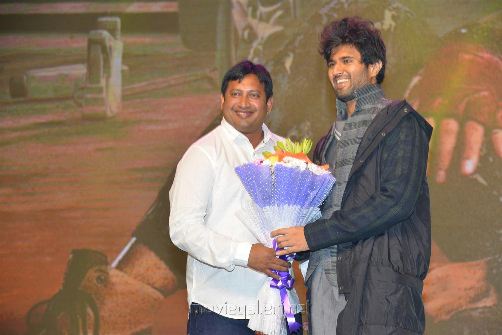 SKN, Vijay Devarakonda @ Taxiwala Pre Release Event Stills