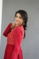 Heroine Priyanka Jawalkar in Red Dress Photos
