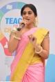 Actress Regina @ Teach For Change 100 Schools Campaign Project Launch Stills