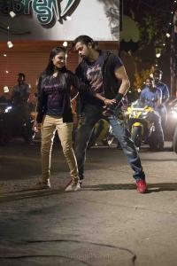Pearle Maaney, Sreesanth in Team 5 Movie Stills